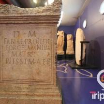piezas del museo paleocristiano de Tarragona