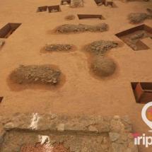 Tumbas de la necropolis paleocristiana de Tarragona
