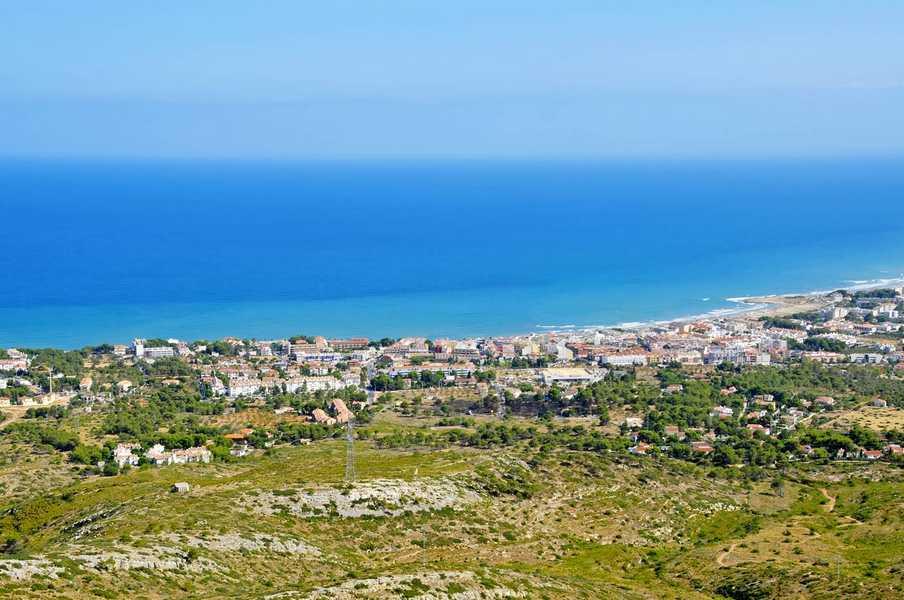 Alcossebre panorac view in Castellon