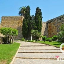 paseo arqueologico de Tarragona y murallas de tarragona