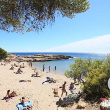 Playa Calo lo ribellet en Ametlla de Mar