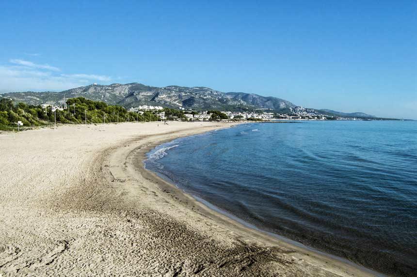 Romana beach , Alocossebre