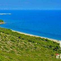 Vista aerea de la playa del torn