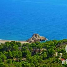 vista panoramica de la playa del torn