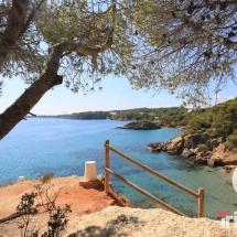 playa l'Illot al sur de l'Ametlla de mar
