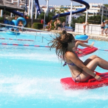atraccion Splash en la Pineda