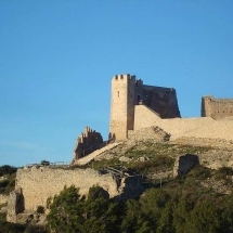 Xivert Castle in Alcossebre