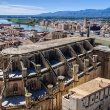 Vista panoramica de Tortosa
