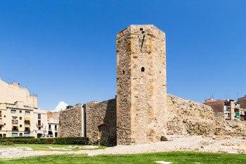 murallas del circo romano de Tarragona