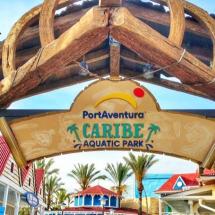 entrada al parque costa caribe en salou