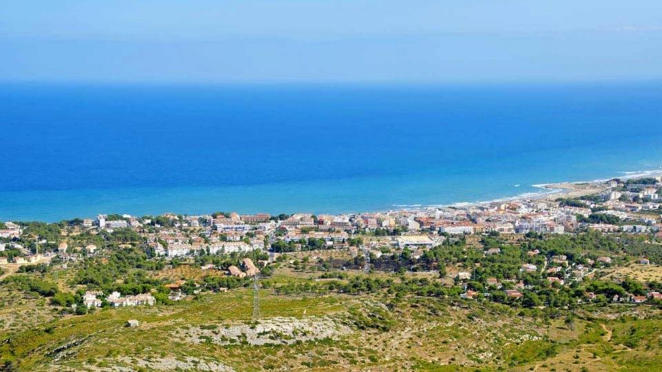 Alcossebre panoramic view in Castellon