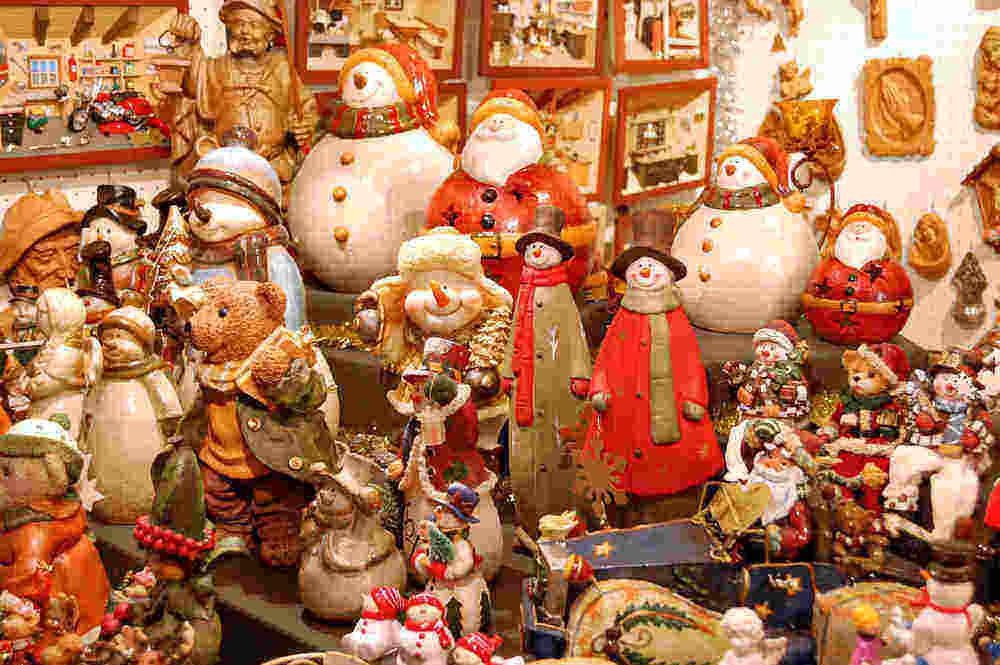 mercados de Navidad de la costa española