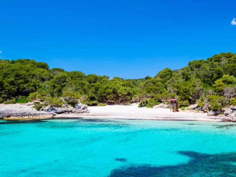 The three most romantic coves in the Balearic Islands