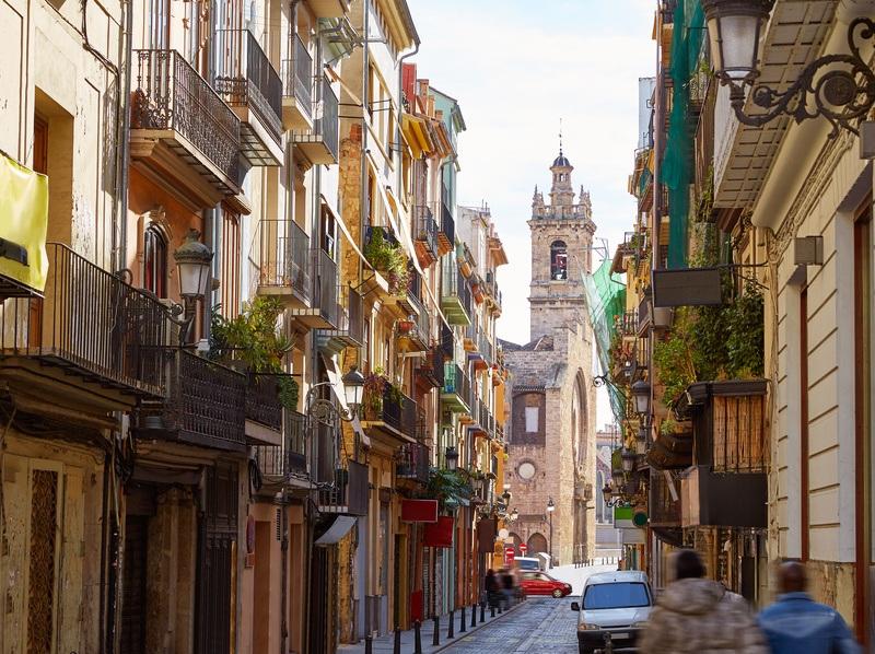 barrio del Carmen de Valencia no turistico