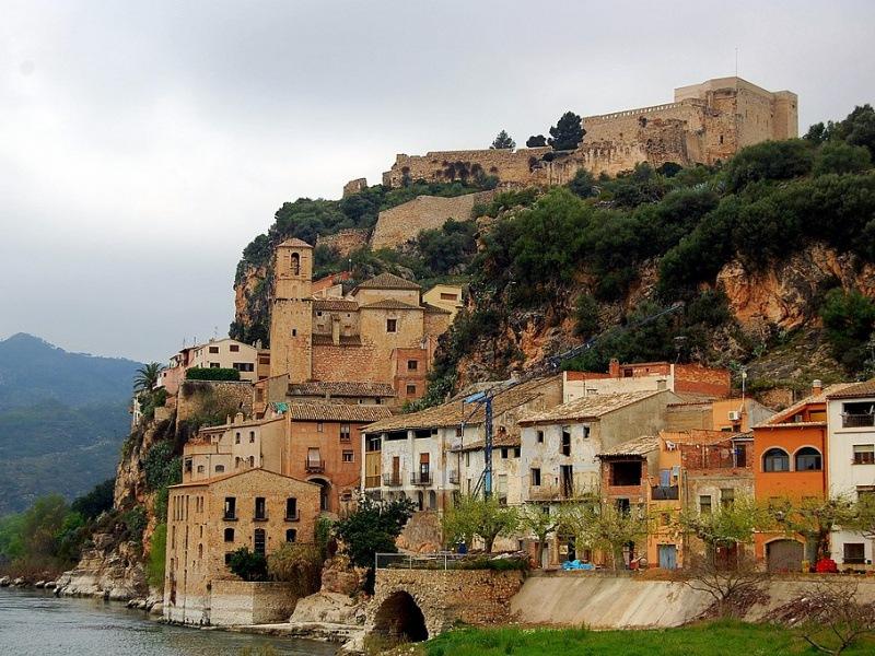 ruta de los castillos por Cataluna