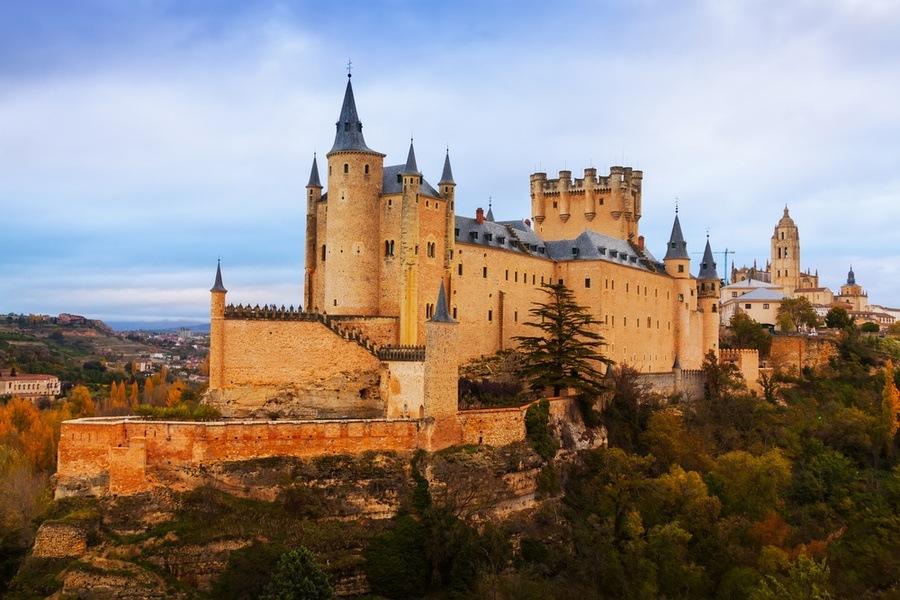 castillo segovia patrimonio