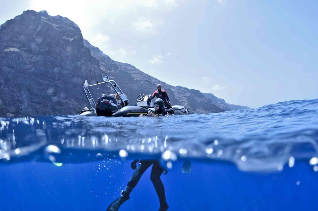 Submarinismo garafia tijarafe tripkay canarias