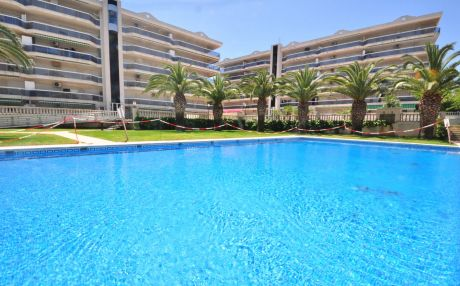 Apartment with garden view for 6 persons in Salou