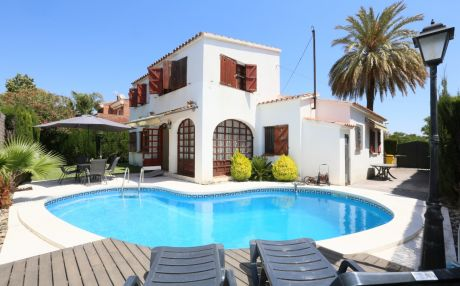 Quiet villa for 11 people in Cambrils