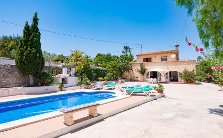 Villa for 6 people in Benissa