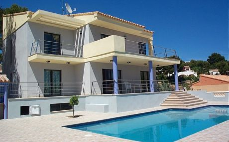 Villa for 14 people in Moraira