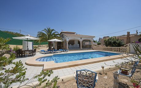 Villa for 6 people in Calpe