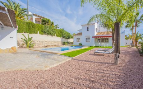 Villa for 8 people in Benissa