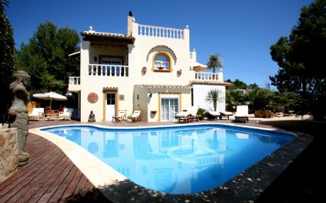 Villa for 8 people in Santa Eulalia del Río