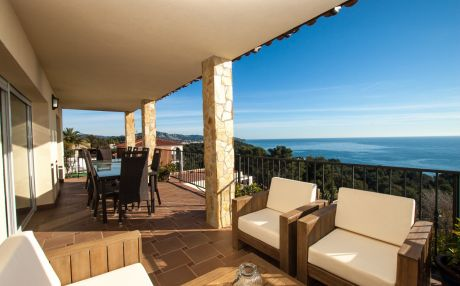 Villa for 12 people in Blanes