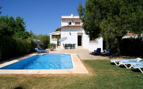Villa for 8 people in Denia