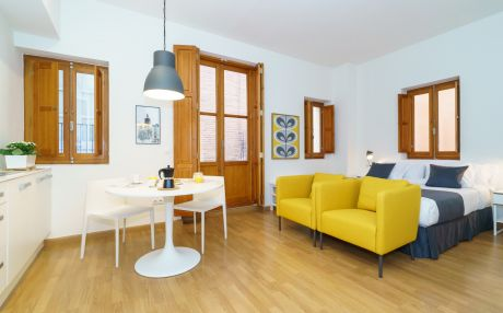 Studio for 2 people in Valencia city