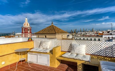 Apartment for 2 people in the city of Cádiz