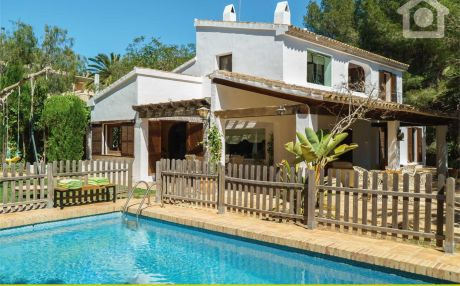 Villa for 11 people in Moraira