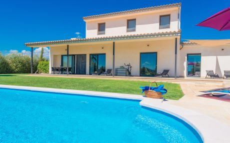 Villa mountain view for 8 persons in Sa Pobla