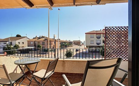 Furnished apartment for 4 people in Los Alcazares