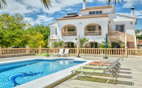 Villa for 9 people in Calpe
