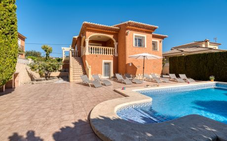 Villa for 8 people in Calpe