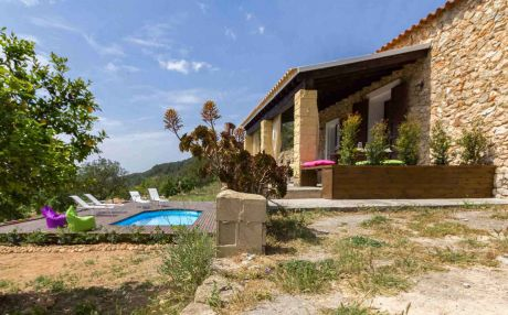 Newly built house for 4 people in San Rafael de Sa Creu / Sant Rafael de Sa Creu