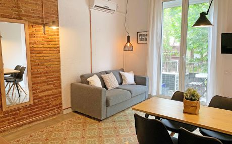 Studio for 4 people in Barcelona city
