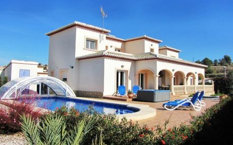 Villa for 10 people in Calpe