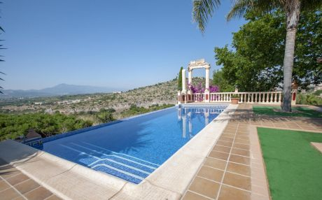Villa mountain view for 10 people in Luchente / Llutxent