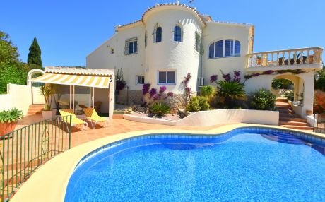 Beachfront villa for 2 people in Javea / Xàbia