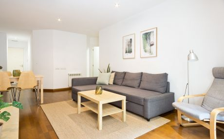 Apartment equipped for 4 people in Barcelona city