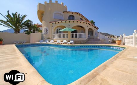 Villa for 15 people in Calpe