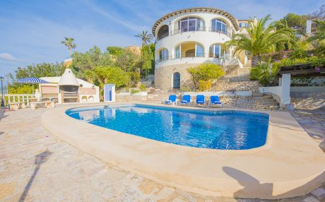 Villa for 10 people in Moraira