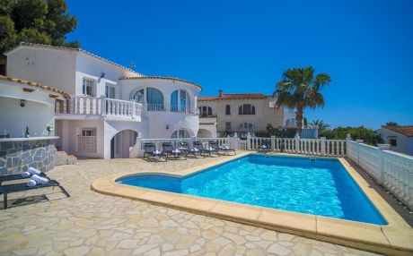 Villa for 16 people in Benissa