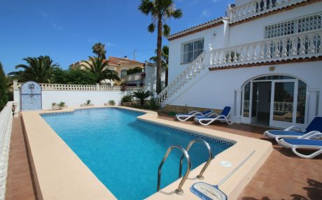Villa for 10 people in Denia