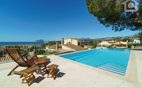 Villa for 7 people in Moraira