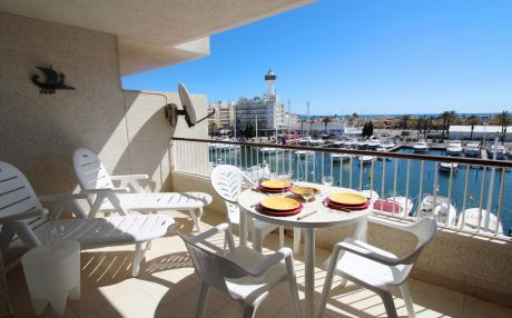 Apartment for 3 people in Empuriabrava