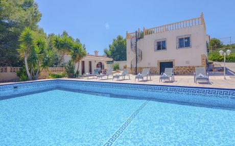 Villa for 12 people in Calpe
